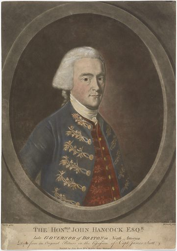John Hancock. Sitter: John Hancock, 12 Jan 1737 – 8 Oct 1793. Date: 1770s. Record ID: npg_NPG.89.168.