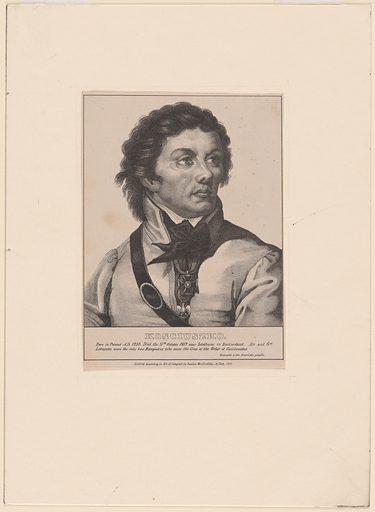 Tadeusz Kosciuszko. Sitter: Tadeusz Kosciuszko, 12 Feb 1746 – 15 Oct 1817. Date: 1830s. Record ID: npg_NPG.79.94.