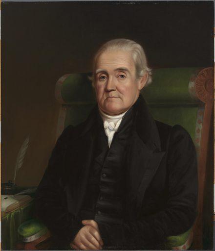 Noah Webster. Sitter: Noah Webster, 16 Oct 1758 – 28 May 1843. Date: 1830s. Record ID: npg_NPG.67.31.