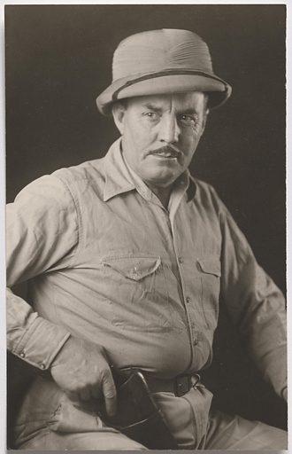 Frank Buck. Sitter: Frank Buck, 1888 – 1950. Date: 1940s. Record ID: npg_S_NPG.93.388.6.