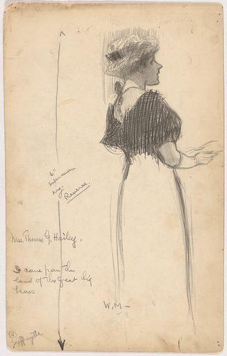 Mrs. Thomas G. Hailey. Sitter: Mrs. Thomas G. Hailey, active c. 1912. Date: 1910s. Record ID: npg_S_NPG.95.57.