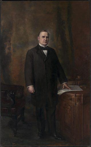 William McKinley. Sitter: William McKinley, 29 Jan 1843 – 14 Sep 1901. Date: 1880s. Record ID: npg_NPG.66.11.
