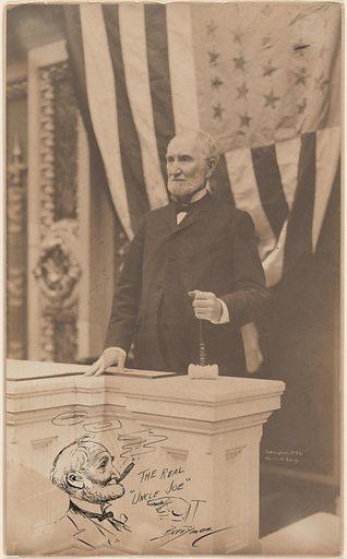 Joseph Gurney Cannon. Sitter: Joseph Gurney Cannon, 7 May 1836 – 12 Nov 1926. Date: 1900s. Record ID: npg_NPG.84.244.