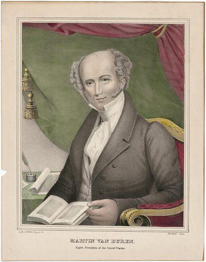 Martin Van Buren. Sitter: Martin Van Buren, 5 Dec 1782 – 24 Jul 1862. Date: 1830s. Record ID: npg_NPG.89.172.