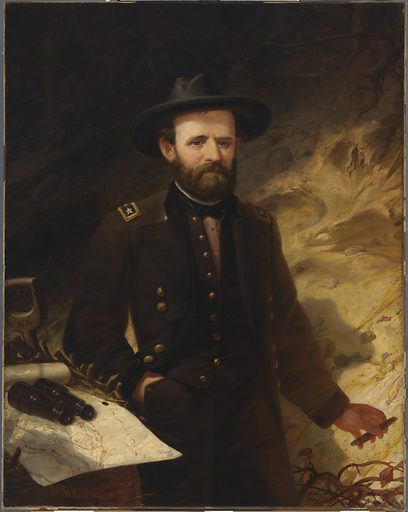 Ulysses S. Grant. Sitter: Ulysses Simpson Grant, 27 Apr 1822 – 23 Jul 1885. Date: 1880s. Record ID: npg_NPG.67.34.