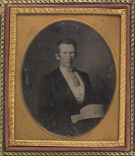 Alexander Franklin James. Sitter: Alexander Franklin James, 10 Jan 1843 – 18 Feb 1915. Date: 1860s. Record ID: npg_NPG.88.205.