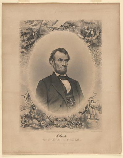 Abraham Lincoln. Sitter: Abraham Lincoln, 12 Feb 1809 – 15 Apr 1865. Date: 1860s. Record ID: npg_NPG.83.243.