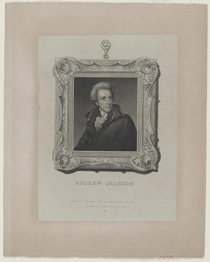 Andrew Jackson. Sitter: Andrew Jackson, 15 Mar 1767 – 8 Jun 1845. Date: 1820s. Record ID: npg_NPG.79.235.