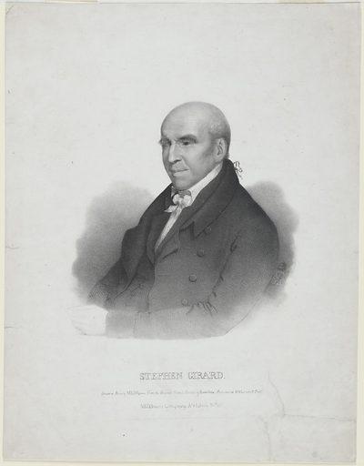 Stephen Girard. Sitter: Stephen Girard, 20 May 1750 – 26 Dec 1831. Date: 1830s. Record ID: npg_NPG.84.103.