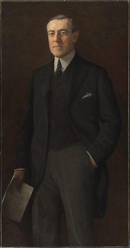 Woodrow Wilson. Sitter: Woodrow Wilson, 28 Dec 1856 – 3 Feb 1924. Date: 1910s. Record ID: npg_NPG.76.110.