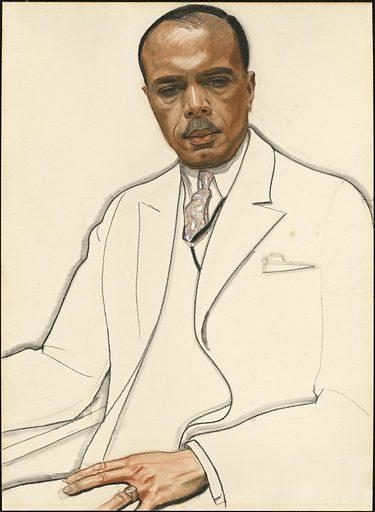 James Weldon Johnson. Sitter: James Weldon Johnson, 17 Jun 1871 – 27 Jun 1938. Date: 1920s. Record ID: npg_NPG.72.78.