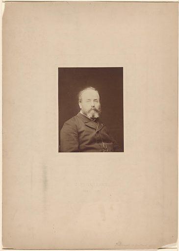 C. F. Gaillard. Sitter: C. F. Gaillard, 1834 – 1887. Date: 1850s. Record ID: npg_S_NPG.78.113.