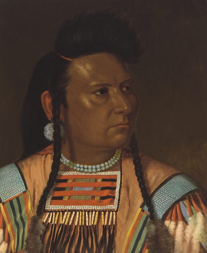 Chief Joseph. Sitter: Chief Joseph, c. 1840 – 21 Sep 1904. Date: 1870s. Record ID: npg_NPG.68.19.