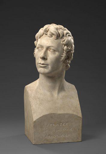 John Frazee Self-Portrait. Sitter: John Frazee, 18 Jul 1790 – 24 Feb 1852. Date: 1820s. Record ID: npg_NPG.82.148.