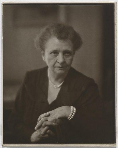 Frances Perkins. Sitter: Frances Perkins, 10 Apr 1880 – 14 May 1965. Date: 1950s. Record ID: npg_NPG.77.60.