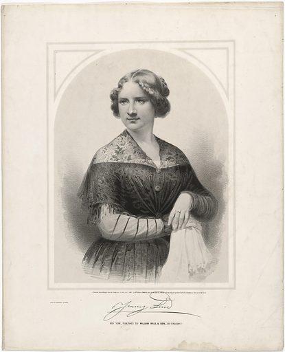 Jenny Lind. Sitter: Jenny Lind, 6 Oct 1821 – 2 Nov 1887. Date: 1850s. Record ID: npg_NPG.81.95.