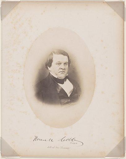 Howell Cobb. Sitter: Howell Cobb, 7 Sep 1815 – 9 Oct 1868. Date: 1850s. Record ID: npg_NPG.87.42.6.