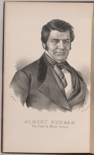 Albert Newsam. Sitter: Albert Newsam, 20 May 1809 – 20 Nov 1864. Date: 1860s. Record ID: npg_NPG.79.128.