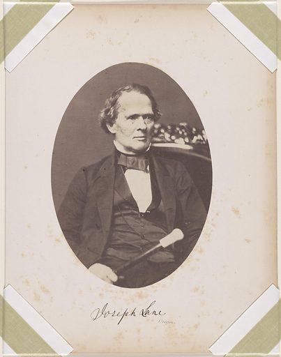 Joseph Lane. Sitter: Joseph Lane, 14 Dec 1801 – 19 Apr 1881. Date: 1850s. Record ID: npg_S_NPG.87.42.37.