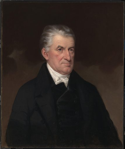 Lyman Beecher. Sitter: Lyman Beecher, 12 Oct 1775 – 10 Jan 1863. Date: 1840s. Record ID: npg_NPG.75.5.
