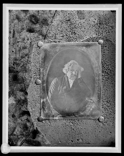 Louis Jacques Mande Daguerre. Sitter: Louis Jacques Mandé Daguerre, 1787 – 1851. Date: 1850s. Record ID: npg_S_NPG.85.292.