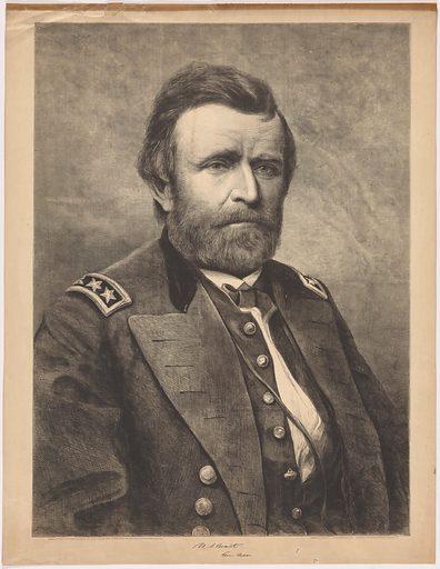 Ulysses S. Grant. Sitter: Ulysses Simpson Grant, 27 Apr 1822 – 23 Jul 1885. Date: 1880s. Record ID: npg_NPG.80.123.