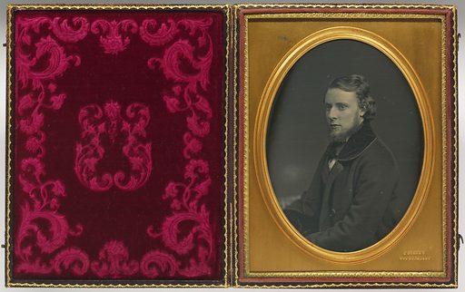 Alfred R. Waud. Sitter: Alfred R. Waud, 2 Oct 1828 – 6 Apr 1891. Date: 1840s. Record ID: npg_NPG.83.139.