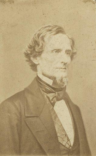 Jefferson Davis. Sitter: Jefferson Davis, 3 Jun 1808 – 6 Dec 1889. Date: 1850s. Record ID: npg_NPG.95.423.