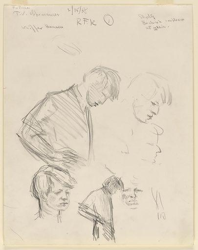 Robert F. Kennedy. Sitter: Robert Francis Kennedy, 20 Nov 1925 – 6 Jun 1968. Date: 1960s. Record ID: npg_NPG.69.54.2.