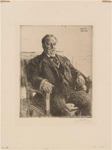 William Howard Taft. Sitter: William Howard Taft, 15 Sep 1857 – 8 Mar 1930. Date: 1910s. Record ID: npg_NPG.71.27.