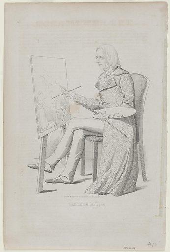 Washington Allston. Sitter: Washington Allston, 5 Nov 1779 – 9 Jul 1843. Date: 1840s. Record ID: npg_NPG.80.112.