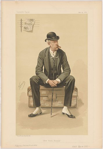 James Gordon Bennett, Jr. Sitter: James Gordon Bennett, Jr., 10 May 1841 – 14 May 1918. Date: 1880s. Record ID: npg_NPG.89.173.