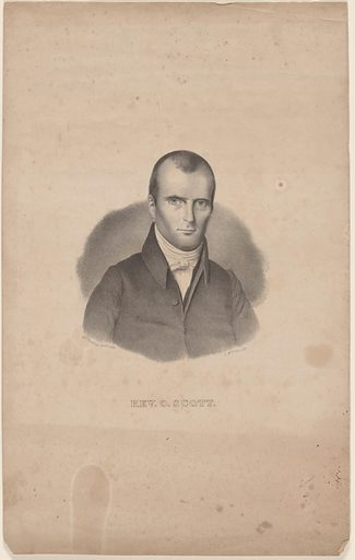 Orange Scott. Sitter: Orange Scott, 1800 – 1847. Date: 1830s. Record ID: npg_S_NPG.84.328.