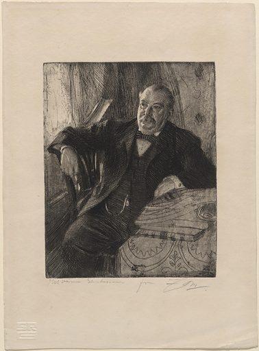 Grover Cleveland. Sitter: Stephen Grover Cleveland, 18 Mar 1837 – 24 Jun 1908. Date: 1890s. Record ID: npg_NPG.71.28.