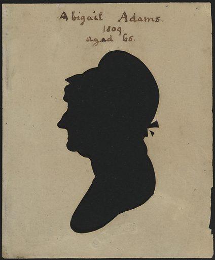Abigail Adams. Sitter: Abigail Smith Adams, 11 Nov 1744 – 28 Oct 1818. Date: 1800s. Record ID: npg_NPG.78.282.