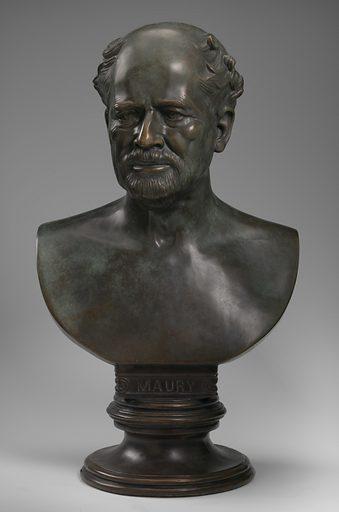 Matthew F. Maury. Sitter: Matthew Fontaine Maury, 14 Jan 1806 – 1 Feb 1873. Date: 1860s. Record ID: npg_NPG.78.34.