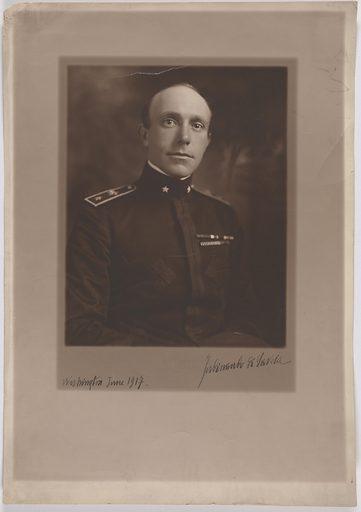 Ferdinando Di Garcia. Sitter: Ferdinando Di Garcia. Date: 1910s. Record ID: npg_S_NPG.81.38.