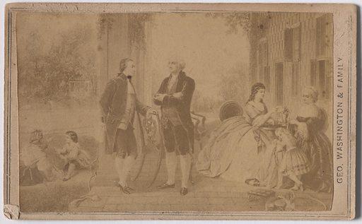 Home of George Washington. Sitter: George Washington, 22 Feb 1732 – 14 Dec 1799. Date: 1850s. Record ID: npg_S_NPG.85.296.