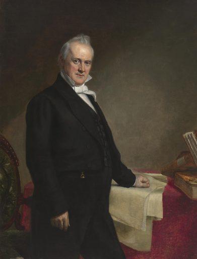 James Buchanan. Sitter: James Buchanan, 21 Apr 1791 – 1 Jun 1868. Date: 1850s. Record ID: npg_NPG.65.48.