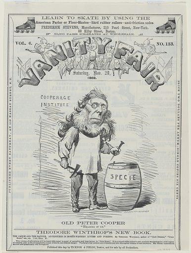 Peter Cooper. Sitter: Peter Cooper, 12 Feb 1791 – 4 Apr 1883. Date: 1860s. Record ID: npg_NPG.78.231.