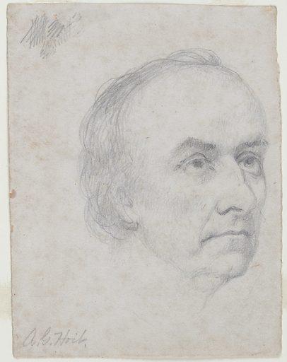 Daniel Webster. Sitter: Daniel Webster, 18 Jan 1782 – 24 Oct 1852. Date: 1840s. Record ID: npg_NPG.71.18.
