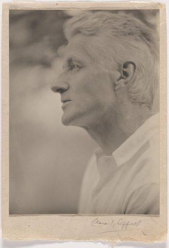 Maxfield Parrish. Sitter: Maxfield Parrish, 25 Jul 1870 – 30 Mar 1966. Date: 1920s. Record ID: npg_NPG.78.59.