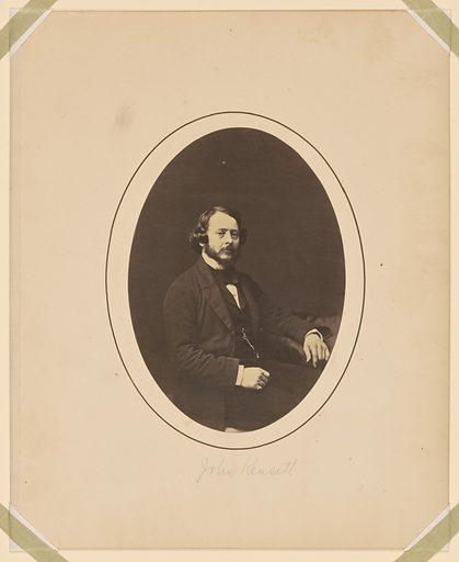 John Frederick Kensett. Sitter: John Frederick Kensett, 22 Mar 1816 – 15 Dec 1872. Date: 1850s. Record ID: npg_NPG.77.122.