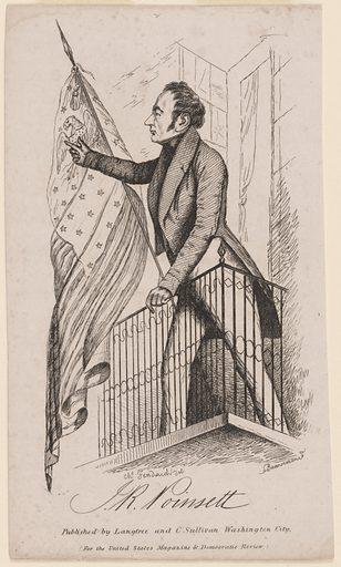 Joel Roberts Poinsett. Sitter: Joel Roberts Poinsett, 2 Mar 1779 – 12 Dec 1851. Date: 1830s. Record ID: npg_NPG.84.8.