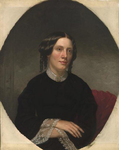 Harriet Beecher Stowe. Sitter: Harriet Elizabeth Beecher Stowe, 14 Jun 1811 – 1 Jul 1896. Date: 1850s. Record ID: npg_NPG.68.1.