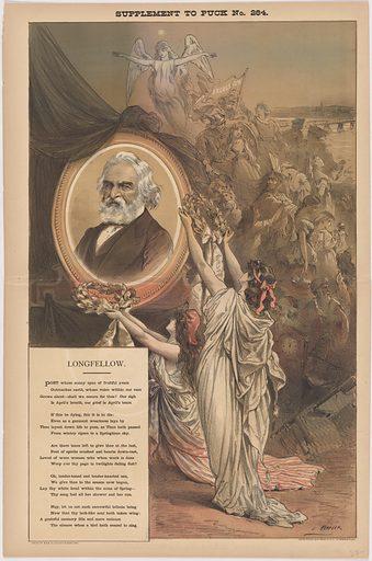 Henry Wadsworth Longfellow. Sitter: Henry Wadsworth Longfellow, 27 Feb 1807 – 24 Mar 1882. Date: 1880s. Record ID: npg_NPG.96.113.