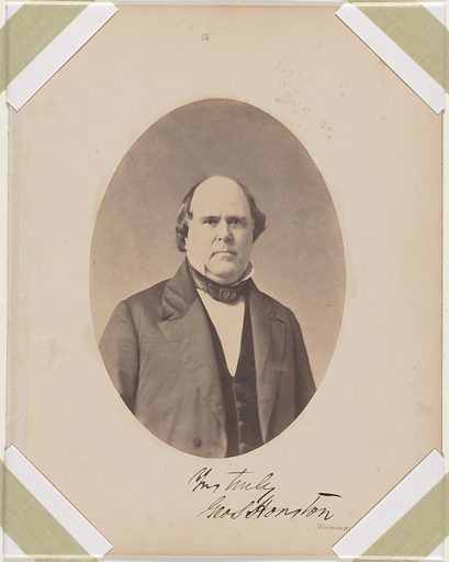 George Smith Houston. Sitter: George Smith Houston, 17 Jan 1811 – 31 Dec 1879. Date: 1850s. Record ID: npg_S_NPG.87.42.52.