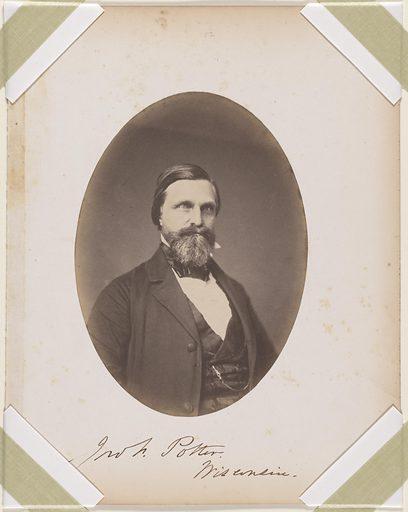 John Fox Potter. Sitter: John Fox Potter, 17 May 1817 – 18 May 1899. Date: 1850s. Record ID: npg_S_NPG.87.42.48.