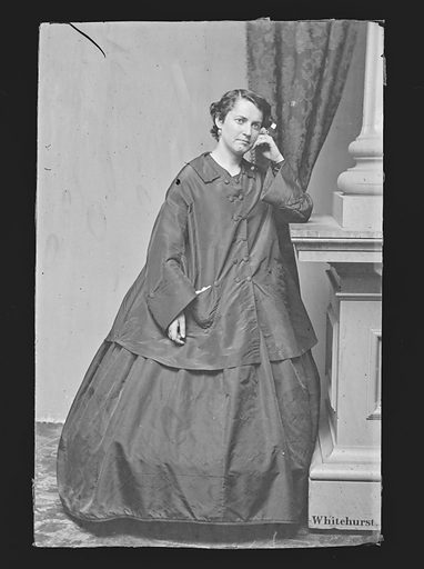 Susan Denin. Sitter: Susan Denin. Date: 1860s. Record ID: npg_NPG.81.M656.
