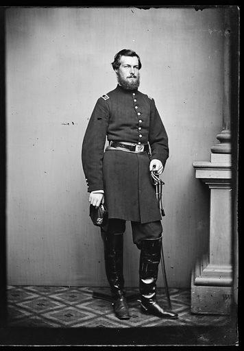 Grenville Mellen Dodge. Sitter: Grenville Mellen Dodge, 1831 – 1916. Date: 1860s. Record ID: npg_NPG.81.M671.2.